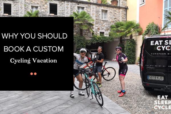 Book a Custom Cycling Vacations Europe - Eat Sleep Cycle