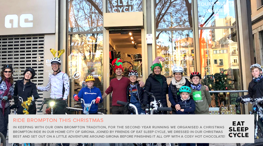 Brompton Bike Ride at Christmas - Eat Sleep Cycle