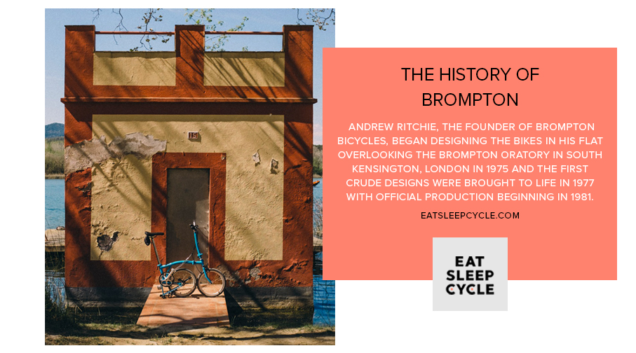 History of Brompton Bikes - Eat Sleep Cycle