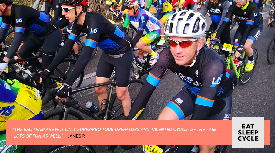 London Dynamo - Eat Sleep Cycle - Cycling Tour Operators