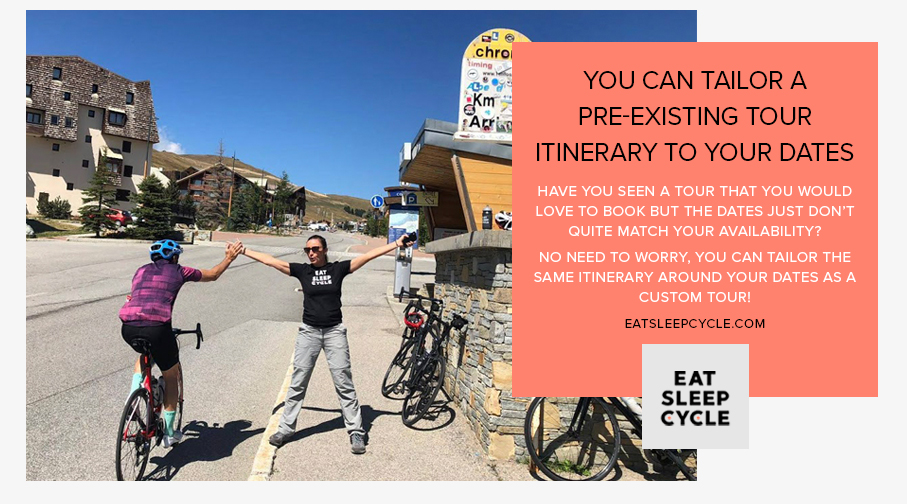 Tailored Custom Cycling Tours - Eat Sleep Cycle
