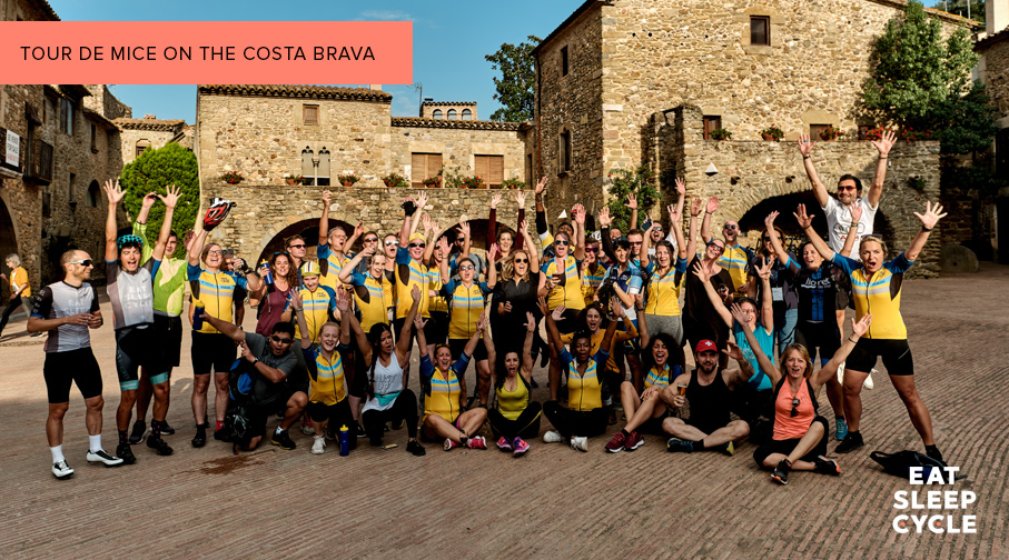 Tour de Mice - Costa Brava - Eat Sleep Cycle
