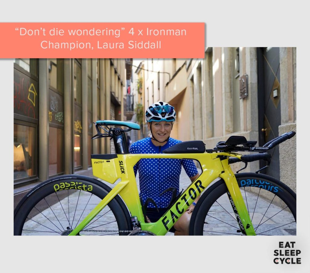 Laura Siddal Ironman Champion Girona Insider Eat Sleep Cycle