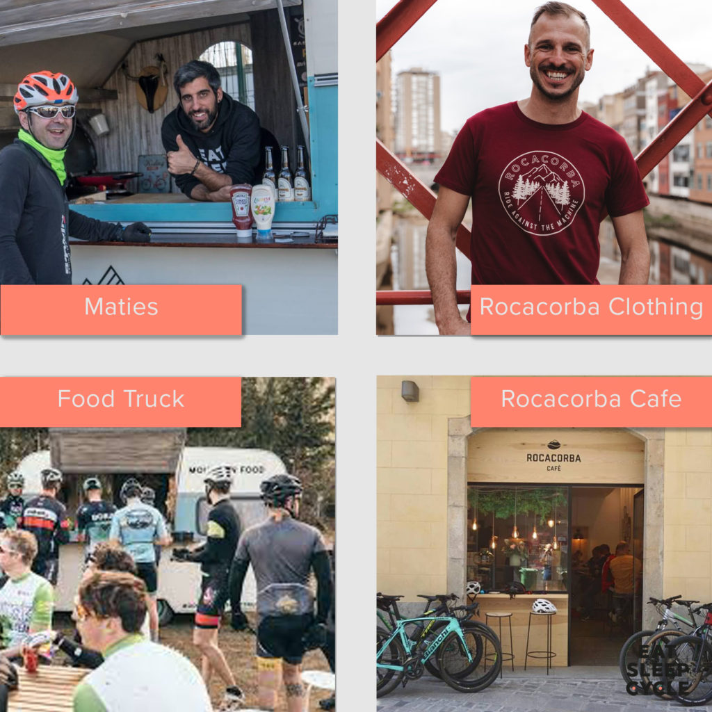 Made-in-Girona-Rocacorba-Food-Truck-Cycling-Business-Collage