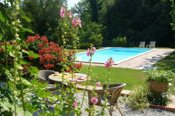Hotel-Le-Mas-Trilles-Ceret-Masia-Pool