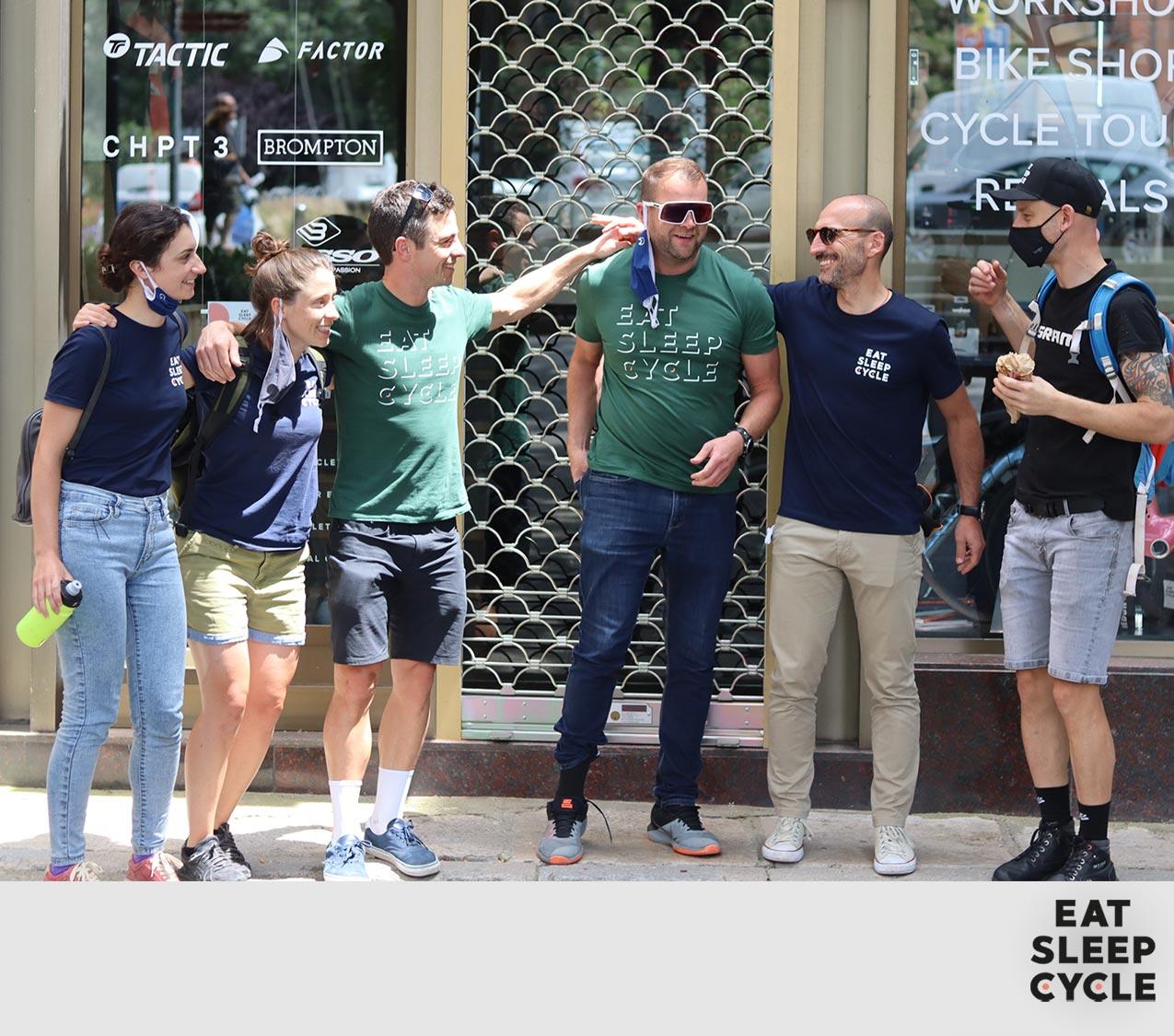 Eat Sleep Cycle Crowdfunding Cafe Girona Cycling Community